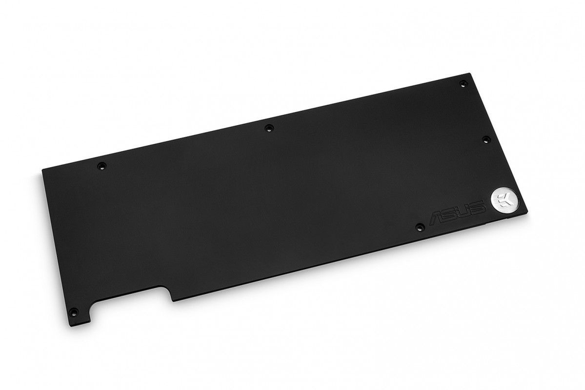 EK-FC1070 GTX Ti ASUS Backplate - Black