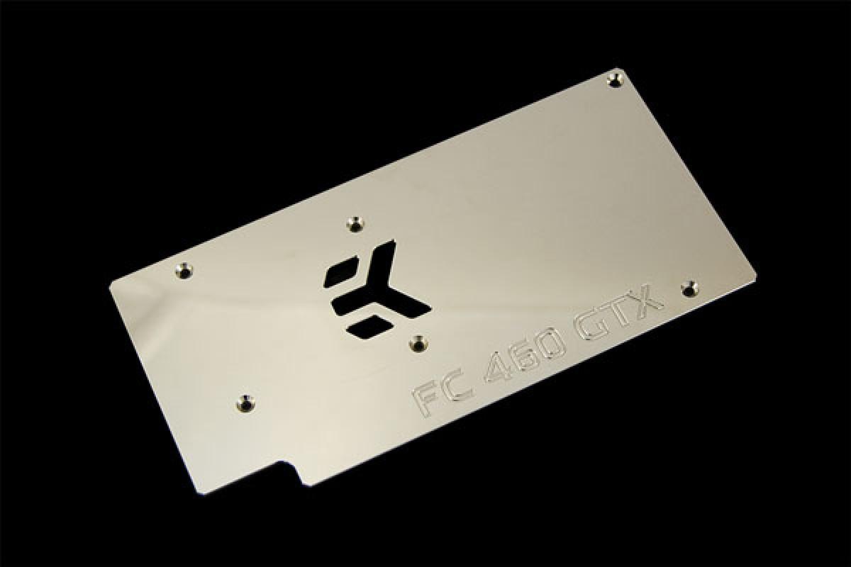 EK-FC460 GTX Backplate - Nickel plated