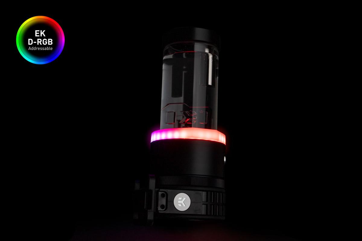 EK-Quantum Kinetic TBE 200 D5 PWM D-RGB - Acetal