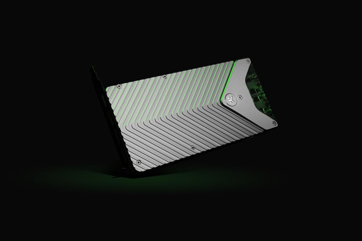 EK-Quantum Vector FE RTX 3080 Backplate - Silver