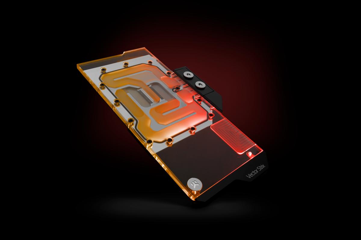 EK-Quantum Vector Strix RX 6800/6900 D-RGB - Nickel + Plexi