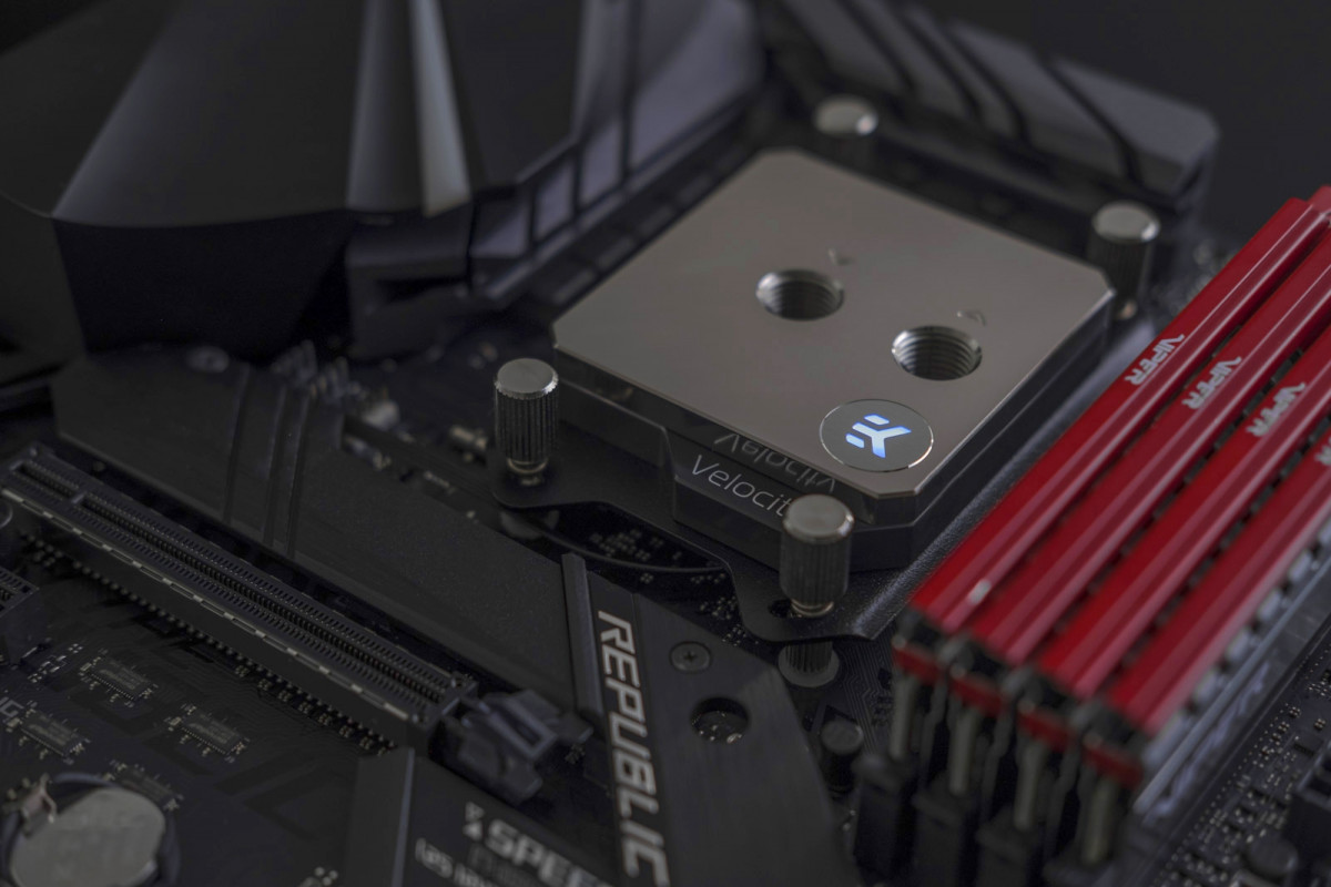 EK-Quantum Velocity D-RGB AMD - Full Nickel