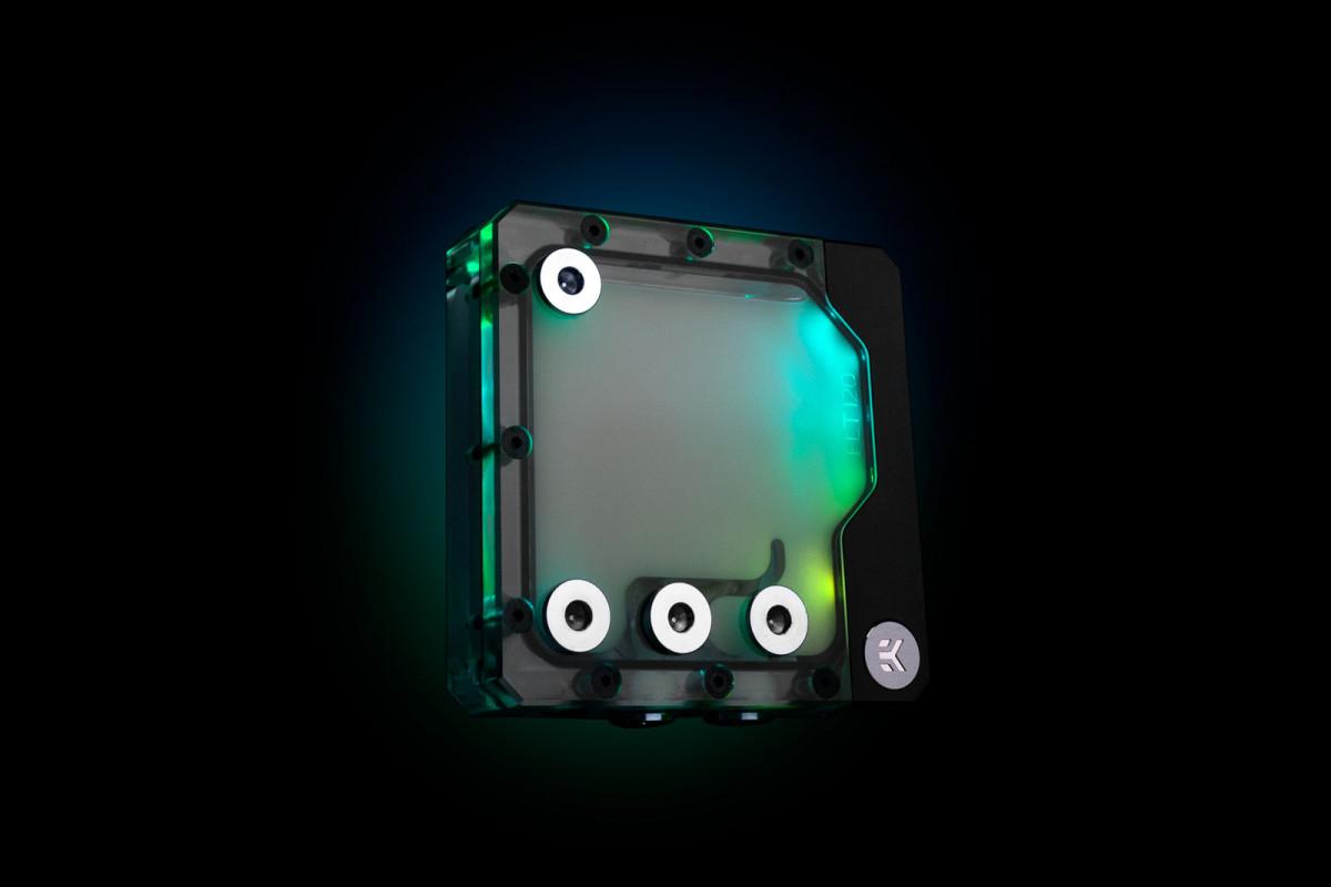 EK-Quantum Kinetic FLT 120 DDC PWM D-RGB - Plexi