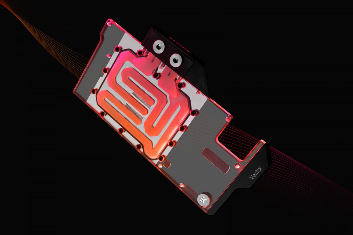 EK-Quantum Vector N+ RX 6800XT/6900XT D-RGB - Nickel + Plexi