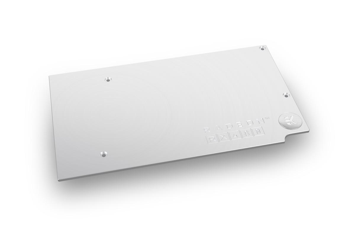 EK-FC RX-480 Backplate - Nickel
