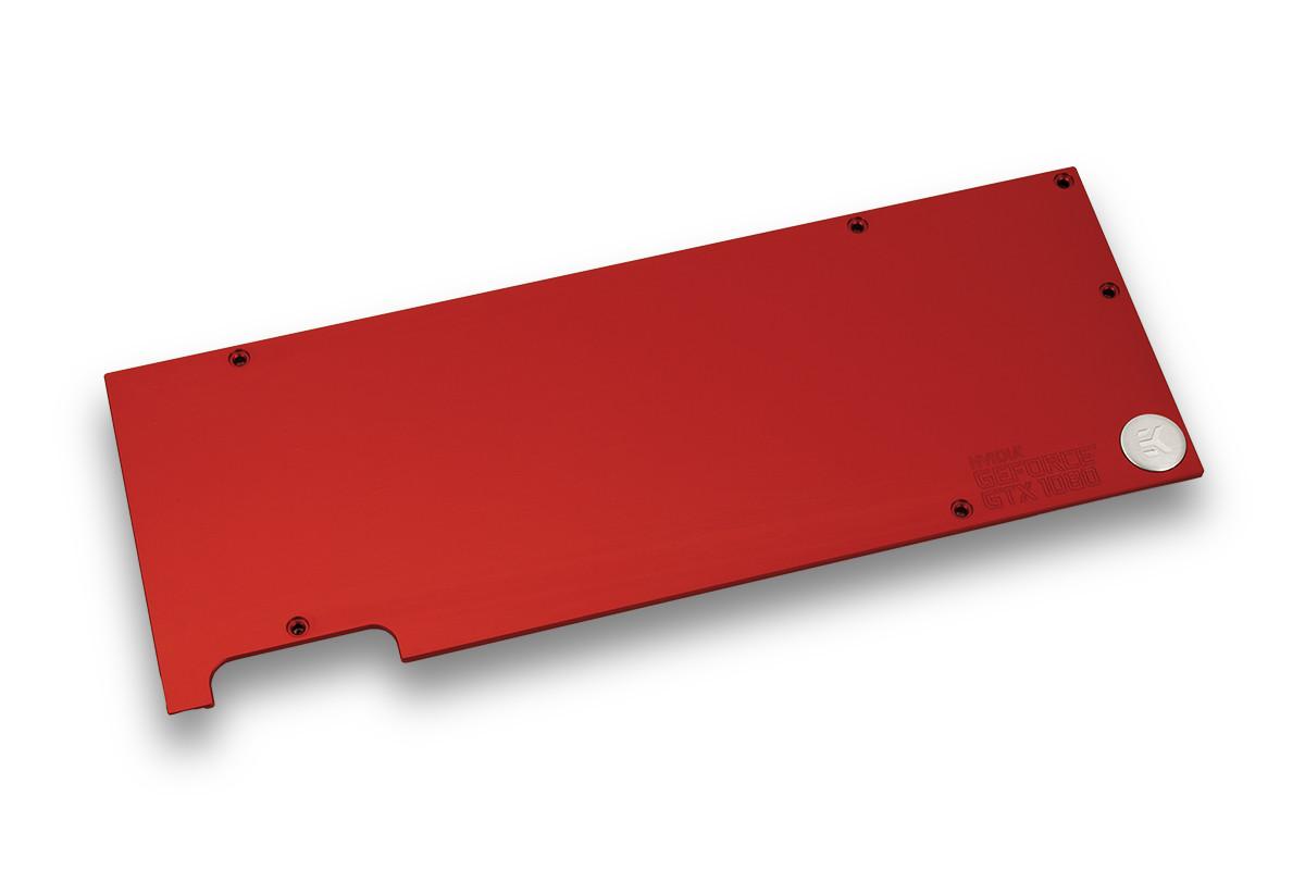 EK-FC1080 GTX Backplate - Red