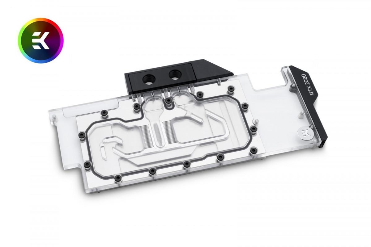 EK Vector RTX RE RGB - Nickel + Plexi