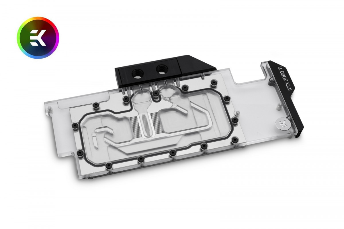 EK-Vector RTX RE Ti RGB - Nickel + Plexi