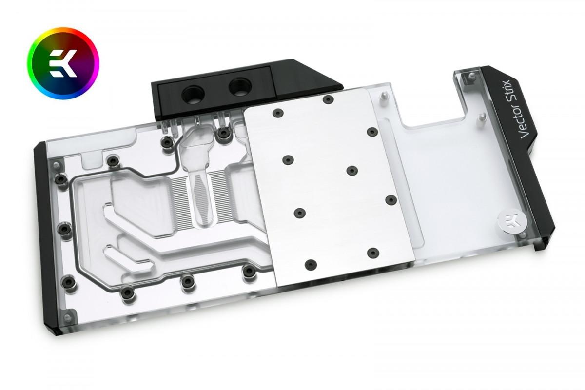 EK-Vector Strix RTX 2080 Ti RGB - Nickel + Plexi