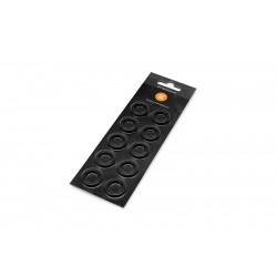 EK-Torque HTC-12 Color Rings Pack - Black (10pcs)