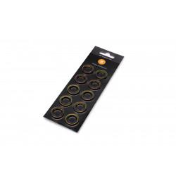 EK-Quantum Torque Color Ring 10-Pack STC 10/13 - Gold