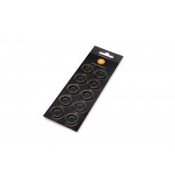 EK-Quantum Torque Color Ring 10-Pack STC 10/16 - Green