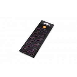 EK-Torque HTC-12 Color Rings Pack - Purple (10pcs)