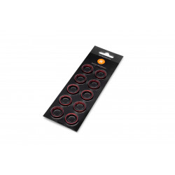 EK-Torque HTC-12 Color Rings Pack - Red (10pcs)