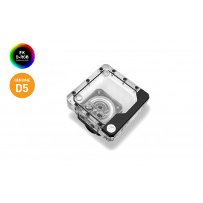 EK-Quantum Kinetic FLT 120 D5 PWM D-RGB - Plexi