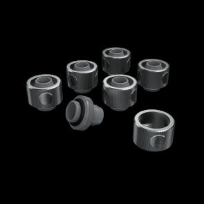 EK-ACF ALU Fitting 10/16mm-Nickel-6 Pack
