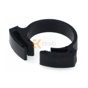 Tube Clamp PVC 17 - 19mm black