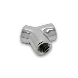 EK-AF Y-Splitter 3F G1/4 - Nickel