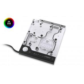 EK-FB ASUS C6H RGB Monoblock - Nickel