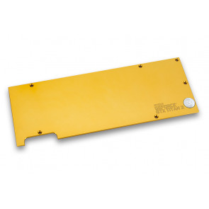 EK-FC Titan X Backplate - Gold