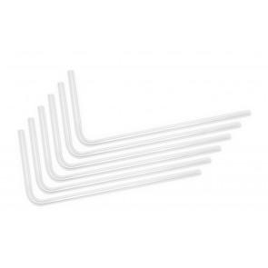 EK-Loop Hard Tube 12mm 0.8m Pre-Bent 90° - Acrylic (6pcs)