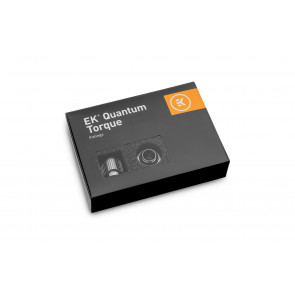 EK-Quantum Torque 6-Pack HTC 12 - Black Nickel