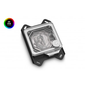 EK-Quantum Velocity RGB - AMD Nickel + Plexi