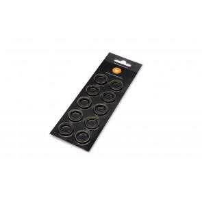 EK-Torque HTC-12 Color Rings Pack - Green (10pcs)