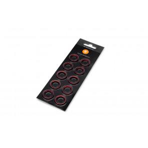 EK-Torque HTC-14 Color Rings Pack - Red (10pcs)