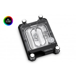 EK-Velocity sTR4 D-RGB - Nickel + Plexi