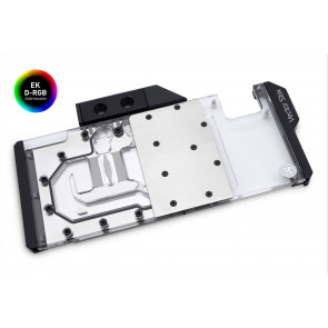 EK-Quantum Vector Strix RTX 2080 D-RGB - Nickel + Plexi