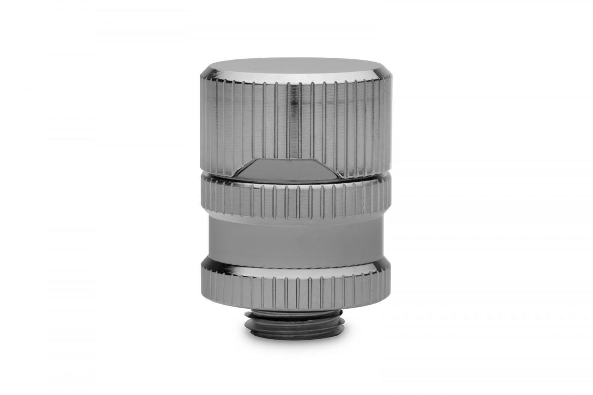 EK-Quantum Torque Drain Valve - Black Nickel