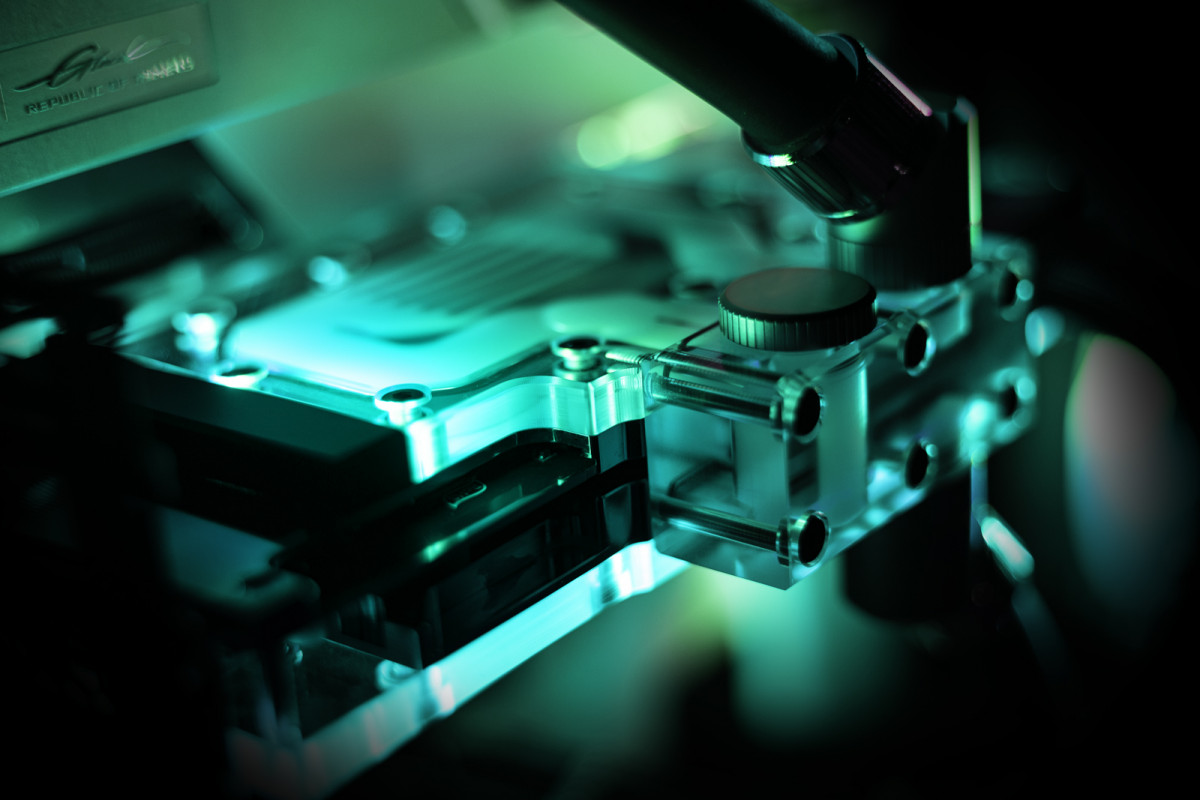 EK-Quantum Vector Trinity RTX 3080/3090 Active Backplate D-RGB - Plexi