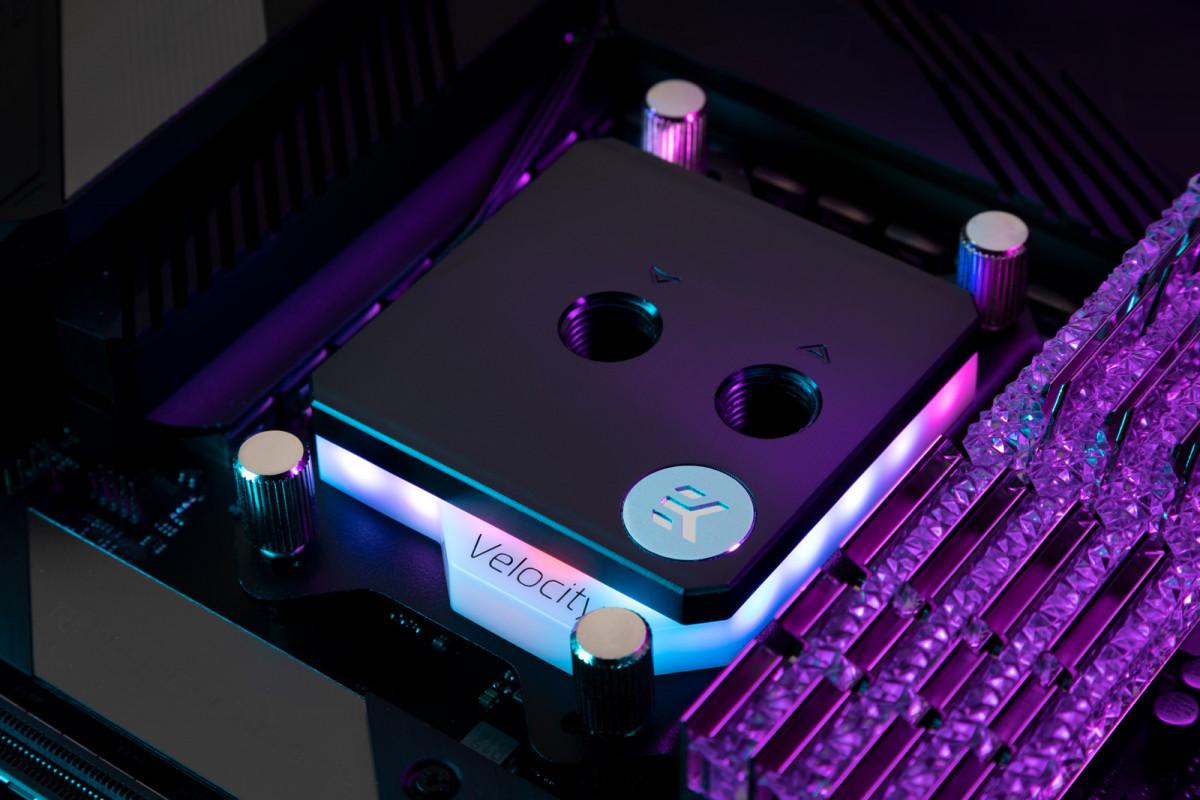 EK-Quantum Velocity D-RGB - AMD Nickel + Acetal