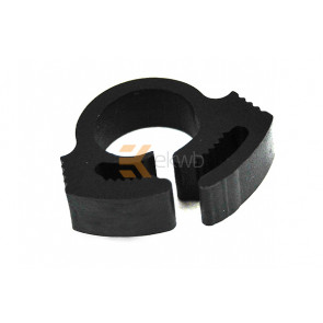 Tube Clamp PVC 10 - 12mm black