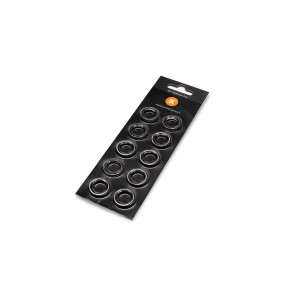 EK-Quantum Torque Color Ring 10-Pack STC 12/16 - Nickel