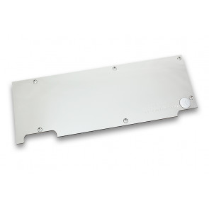 EK-FC980 GTX WF3 Backplate - Nickel