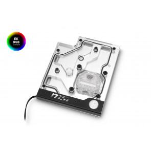 EK-FB MSI X470 Pro Carbon RGB Monoblock - Nickel