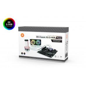 EK-Classic Kit P240 D-RGB - Black Nickel Edition