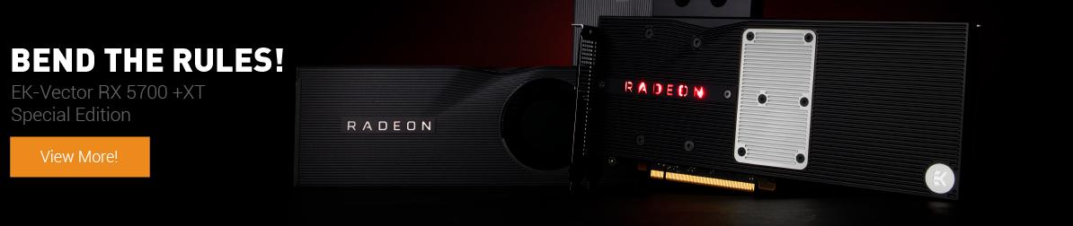 EK-Vector Radeon 5700 +XT Special Edition