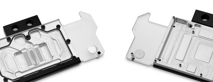 Aluminum Fluid gaming water block for nvidia 3080 and 3090 reference pcb