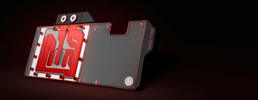 EK Water block for the EVGA RTX 3070 FTW3 GPU