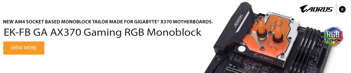 EK-FB GA AX370 Gaming RGB Monoblock