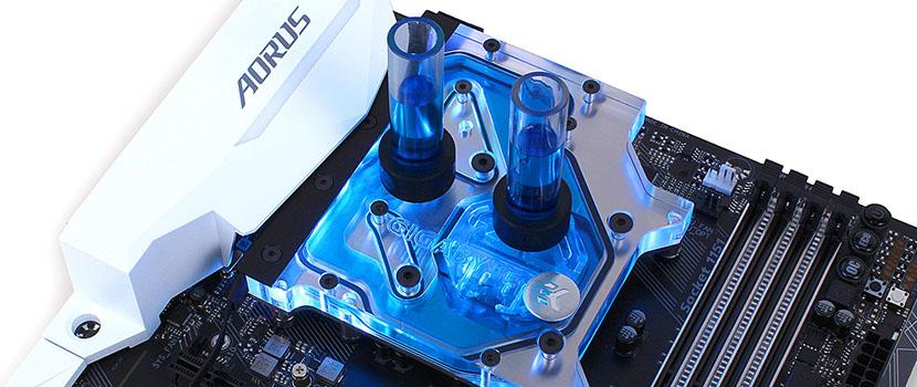 EK-FB GA Z270/Z370 GAMING RGB Monoblock - Nickel