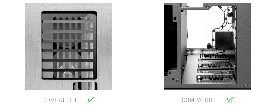 EK Vertical GPU mount - Shifted