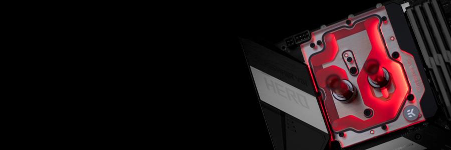 EK-Momentum ROG Crosshair VIII Hero D-RGB monoblock