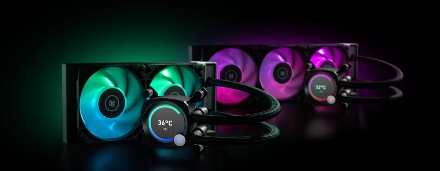 EK-Nucleus AIO CR240 Vision D-RGB