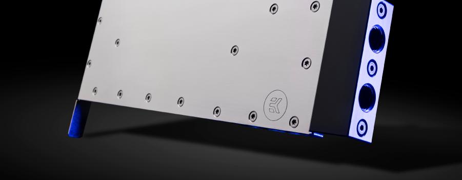 EK-PRO gpu water block for nvidia RTX A100 graphics accelerator