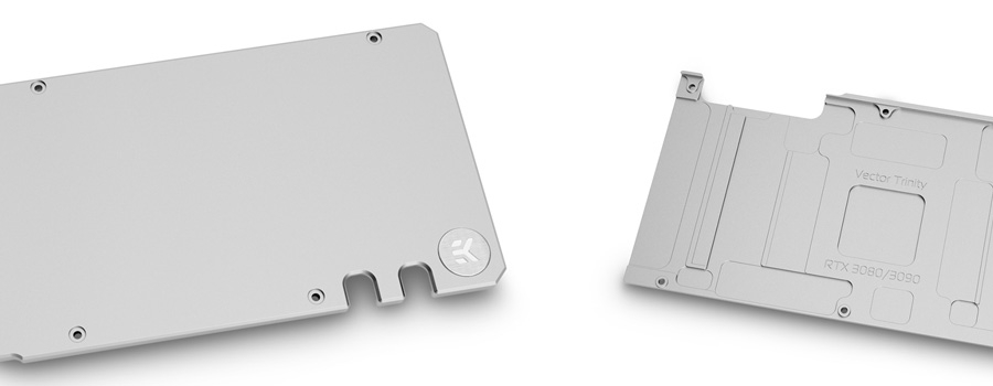 Backplate for Zotac Trinity RTX 3080 3090 GPU