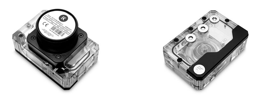 EK Quantum Kinetic FLT 80 SFF - pump-res combo
